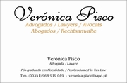 Verónica Pisco Lawyers Pos-Graduated in Tax Law