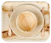 Eco-Friendly Palm Leaf Party Sets