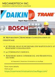 AC Reparation   Rosemere Climatisation et chauffage