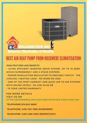 Best Air Heat Pump from Rosemere Climatisation