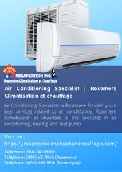 Air Conditioning Specialist | Rosemere Climatisation et chauffage