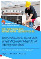 Heat Pump in Rosemere | Heating Repair – Mecanertech Inc.