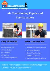 Air Conditioning Repair in Blainville | Rosemere Climatisation et Chau