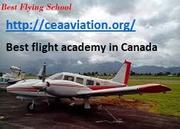 Best flight academy in Canada