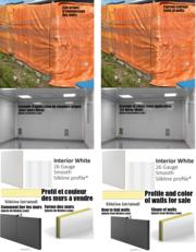 Fire-resistant pharma walls/Murs résistant au feu type pharma